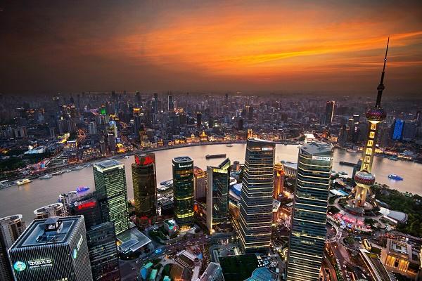 上海北外滩-夜游黄浦江