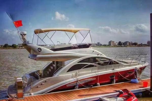 意桥岛45尺飞桥游艇