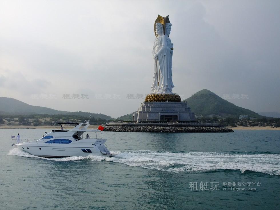 三亚港-东/西岛-南山海上观音