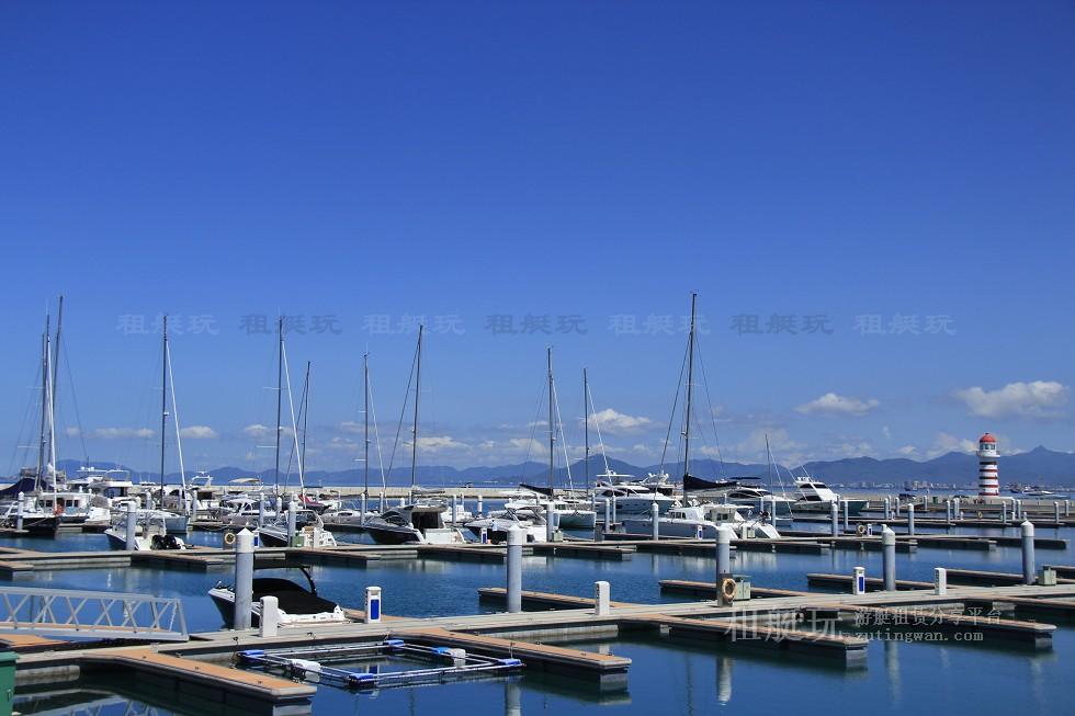 三亚半山半岛帆船港