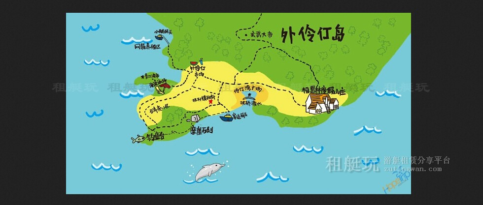 广州莲花山游艇会-外伶仃岛两天一夜