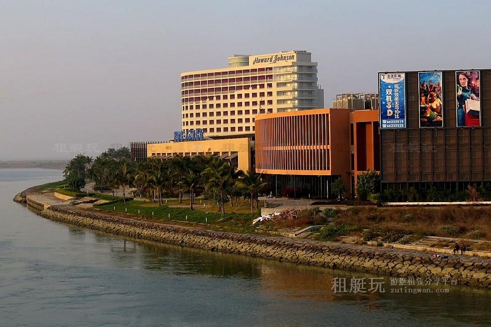 海南海口新埠岛国际游艇会