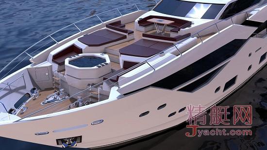 英国Sunseeker 圣汐 全球首艘 Sunseeker 116 Yacht揭开面纱!