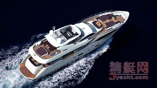 0英国Sunseeker 圣汐 全球首艘 Sunseeker 116 Yacht揭开面纱!