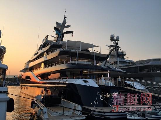 对游艇的爱,在日落黄昏后 Ⅱsolandge-yacht.jpg