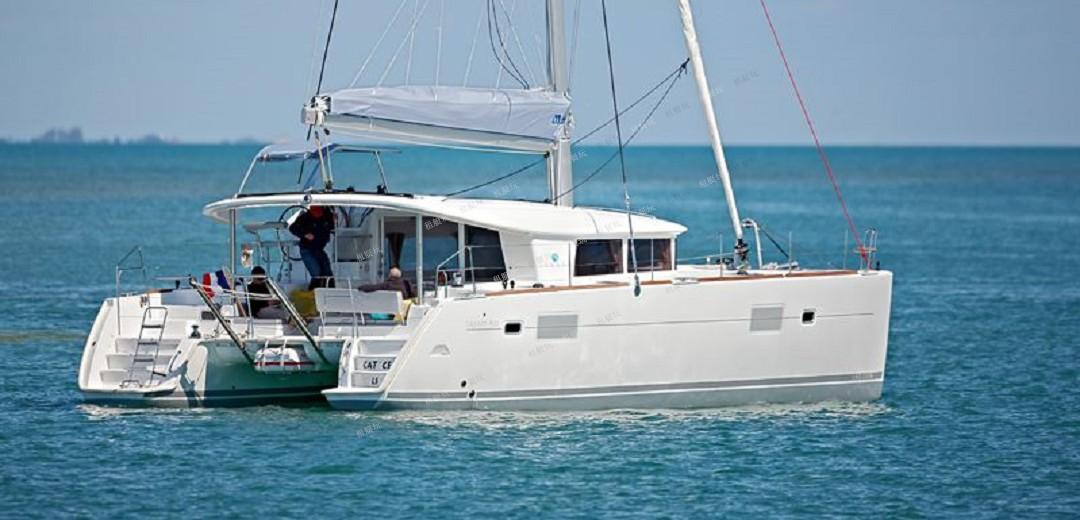 法国蓝高40尺双体帆